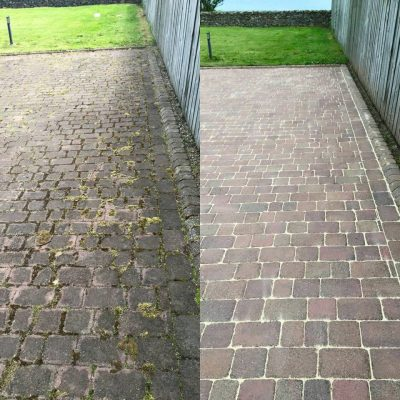 driveway 1 before and after apc