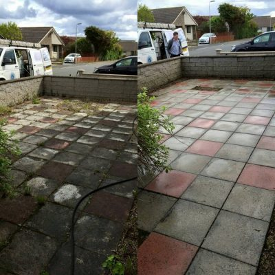 driveway before and after apc