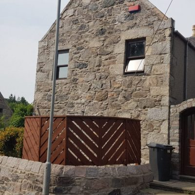 granite cleaning of school house and outer walls 11